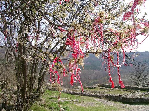 Chestita baba marta march 1st bulgarian martenitsa day nadejda share this m4hsunfo
